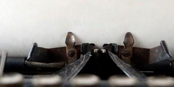 typewriter--banner