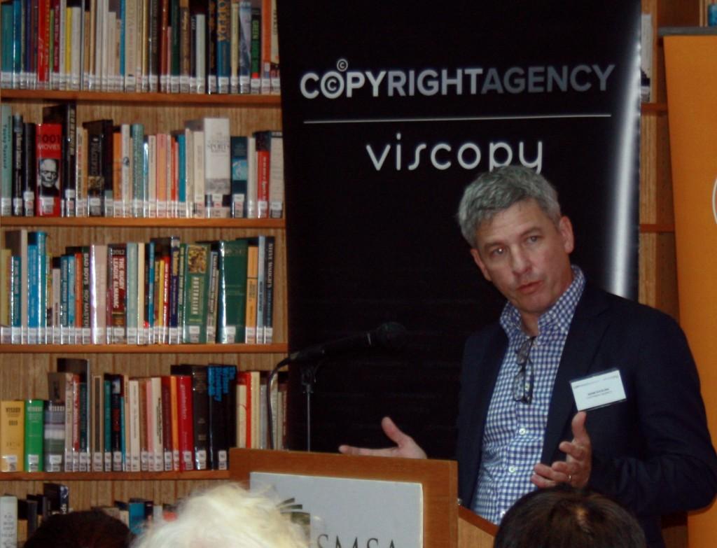 Copyright Agency CEO Adam Suckling