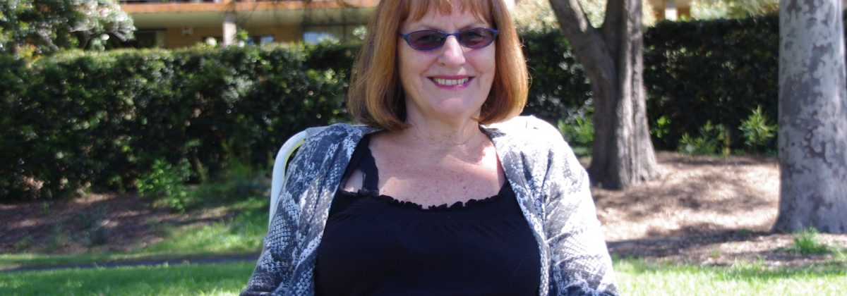 Writer Rosie Scott