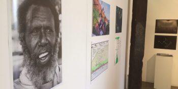 Gail Mabo artist stall. Cairns Indigenous Art Fair, 2017