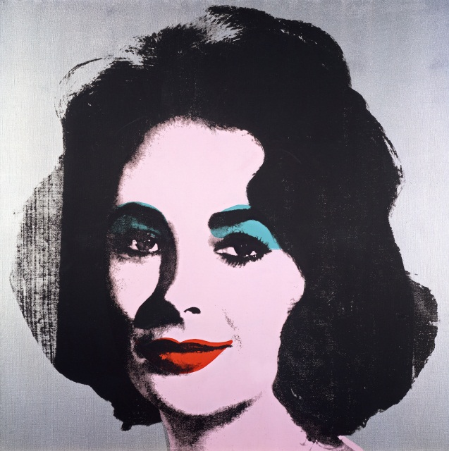 Silver Liz Andy Warhol American 1928–87 Silver Liz [Ferus Type] 1963 silkscreen ink, acrylic, and spray paint on linen 101.6 x 101.6 cm The Andy Warhol Museum, Pittsburgh; Founding Collection, Contribution The Andy Warhol Foundation for the Visual Arts, Inc. © 2015 The Andy Warhol Foundation for the Visual Arts, Inc./ARS, New York. Licensed by Viscopy, Sydney.