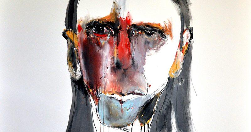 Anthony Bennett, Study for a portrait for reg © Anthony Bennett / Licensed by Viscopy, 2014