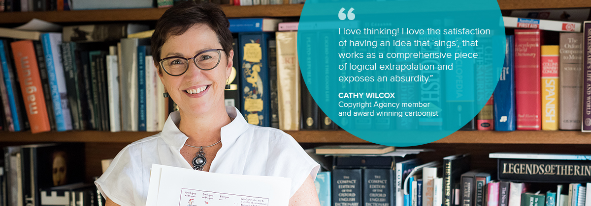Copyright Agency_Cathy Wilcox quote internal page banner_FNL
