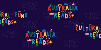 Australia Reads logo.